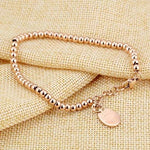The Smiley Cat Bracelet Plated in Rose Gold.Catlive.4