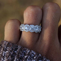 2020 new 925 sterling silver jewelry Engagement Ring