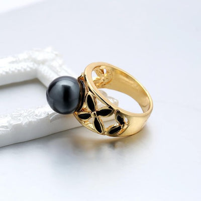 Gold-Vintage-Pearl-Ring-Designer-Top-Quality