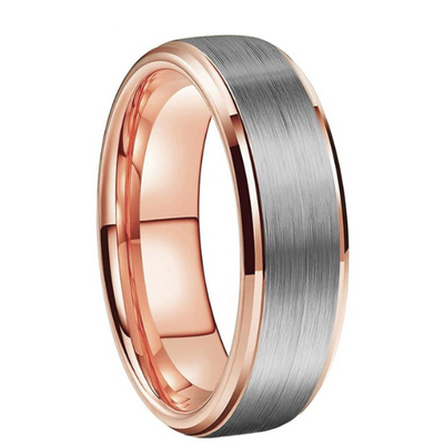 Rose-Gold-Ring - With-Step-Bevel-Edges-Brush-2021