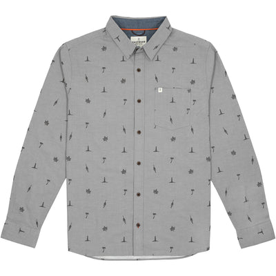 Outpost Shirt Long Sleeve - Fog
