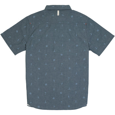 Outpost Shirt Short Sleeve - Atlantic