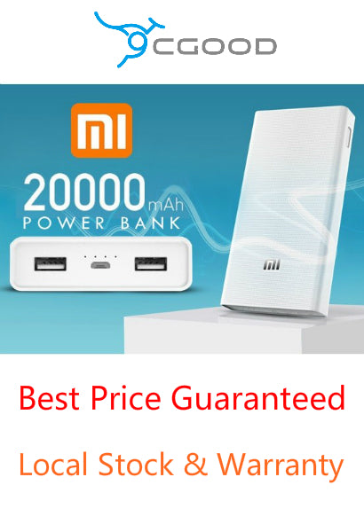 2018 Xiaomi Powerbank (20000 mAh) - Local Warranty - Best Price Guaranteed