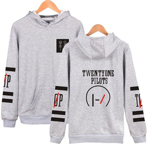 Twenty One 21 Pilots Pull Over Hoodie  Casual Sweatshirt For Youth Adults
