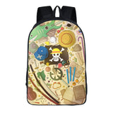 Anime ONE Piece 3D Print Backpack Youth  Students Bookbag