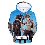 Fortnite 3D Print Casual Hoodies Youth