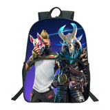 Fortnite 3D Print Polyester Backpack School Bookbag For Kids Teenagers