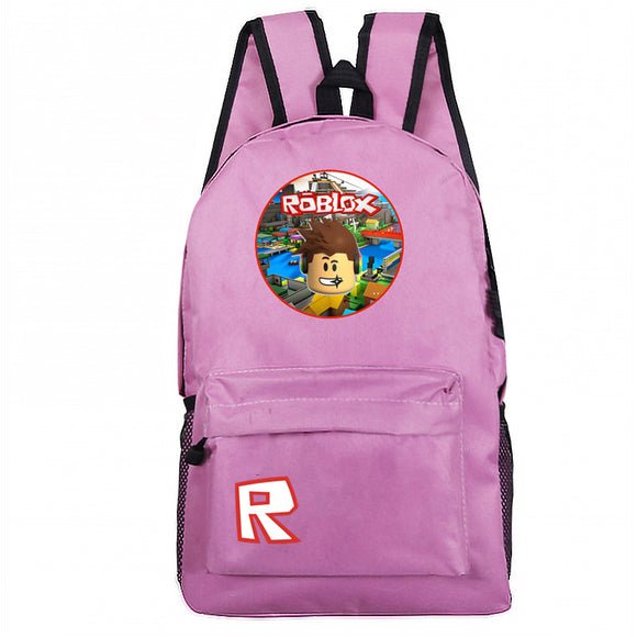Roblox Backpack Schoolbag Book Bag Bag Pack Handbag Travelbag