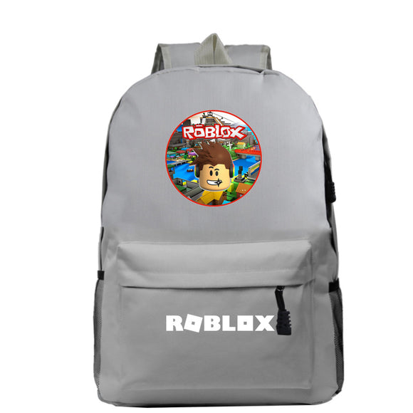 Roblox Backpack for Students Boys Girls Schoolbag Roblox Print Travelbag Daybag Laptopbag