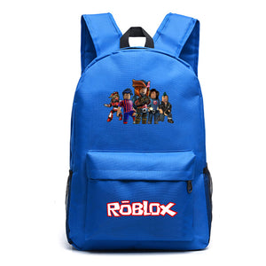 Roblox School Backpack Students Bookbag Daybag