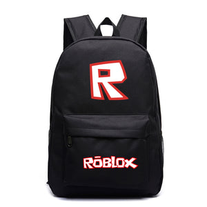 Roblox School Backpack Students Bookbag Youth Daybag
