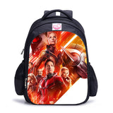 Marvel Ant Man Print Backpack Polyester School Backpack Bookbags