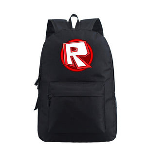 Roblox Backpack for School Students Book Bag Daybag