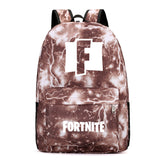 Fortnite Youth Teenagers Polyester Backpack Students Bookbag