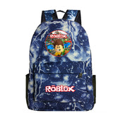 Roblox Print Roblox School Backpack Students Bookbag Daybag