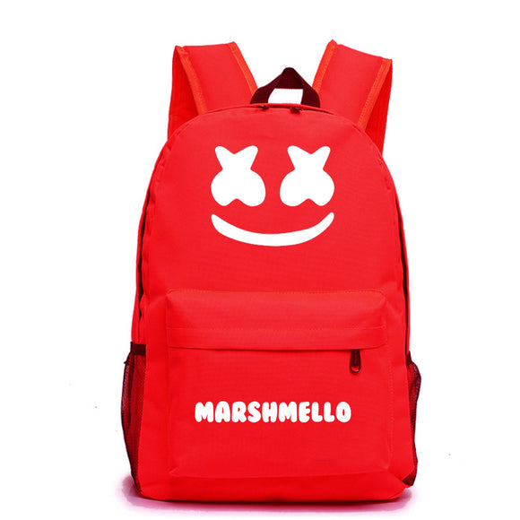 DJ Marshmello Youth  School Backpack