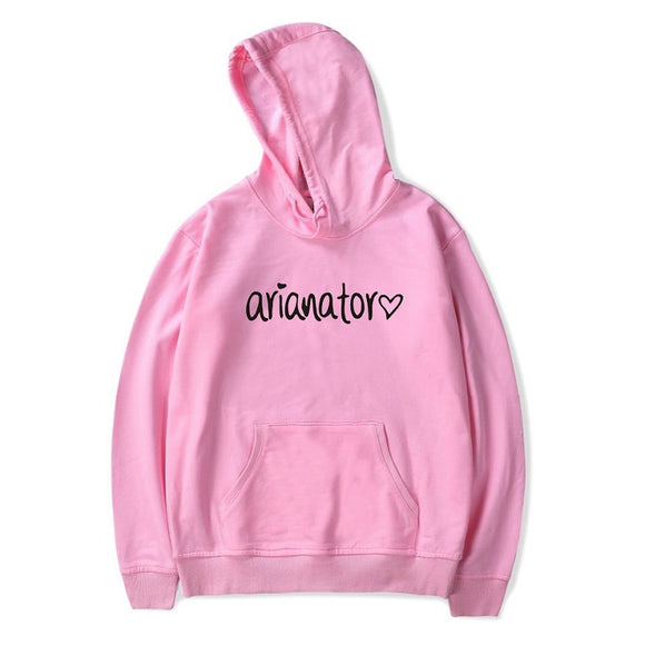 Ariana Grande Pull Over Hoodies Casual Sweatshirt