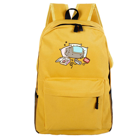 Pusheen Cat Backpack For Teenagers Girls Children Primary Students Backpacks