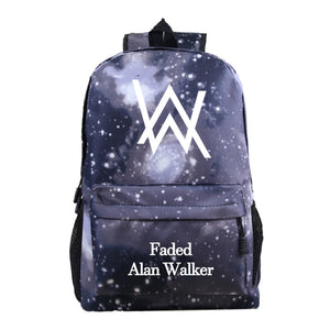 Alan Walker Youth Fashion School Backpack