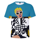 Womens Girls Cardi B Street Style Fashion Shirt