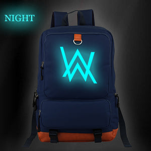 Alan Walker Teens Youth Backpack For School Campus Backpack