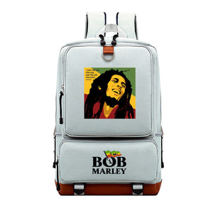 Bob Marley Youth School Backpack Computer Backpack