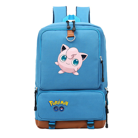 Pokemon Go Big Capacity Backpack Bookbags Rucksuck for Teens