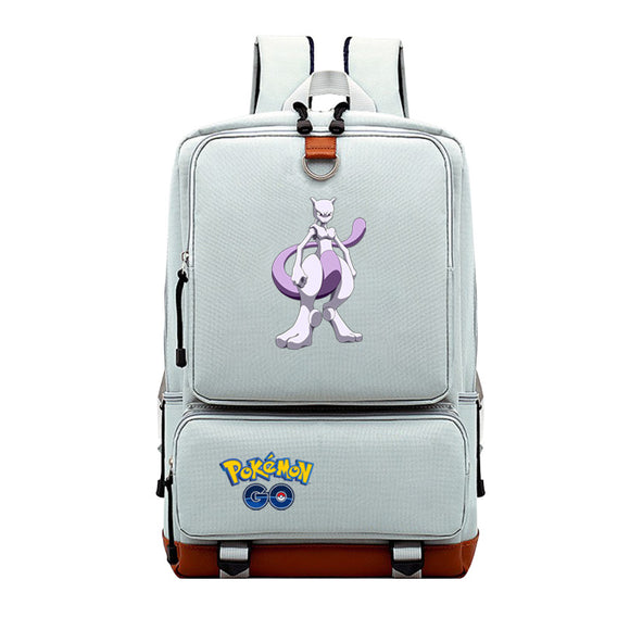 Pokemon Go Big Capacity Polyester Backpack Bookbags Rucksuck for Teens