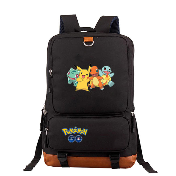 Pokemon Go Big Capacity Backpack Rucksuck for Teens