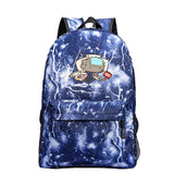 Pusheen Cat / Neko Atsume Backpack For Teenagers