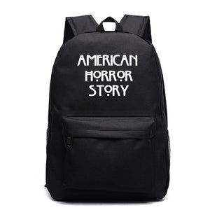 American Horror Story  Backpack Kids Teens Day Bag Bookbag