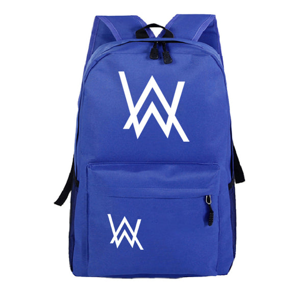 Alan Walker Teens Youth School Backpack Fashion Daily Backpack