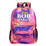 Bob Marley  Youth Teens School Backpack Polyester Computer Backpack