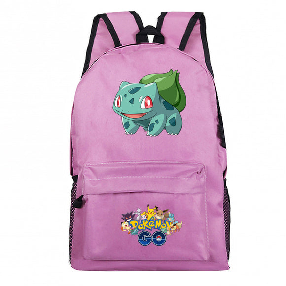 Pokemon Go Students Backpack School Bag Bookbags