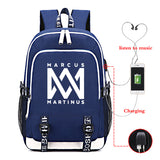 Marcus And Martinus Backpack Bag School Bag Collage Bags