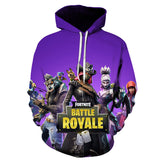 Fortnite Colorful Pull Over Hoodies