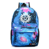 Supernatural Youth School Backpack Bookbags
