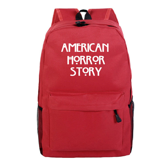 American Horror Story School Backpack Teens Day Bag