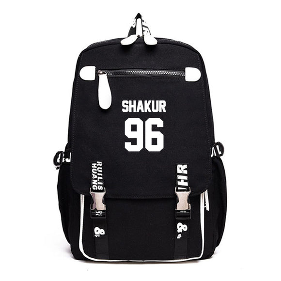 2PAC Tupac Shakur Youth Fashion Backpack Students School Backpack