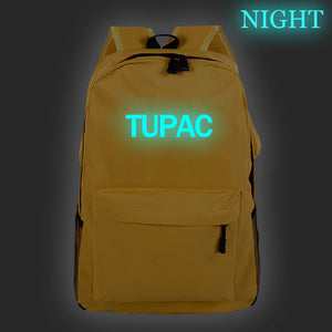 2PAC Tupac Shakur  Hip Hop Fans  Teens Backpack School Backpack