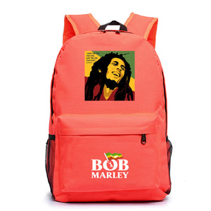 Bob Marley  Youth Teens School Backpack