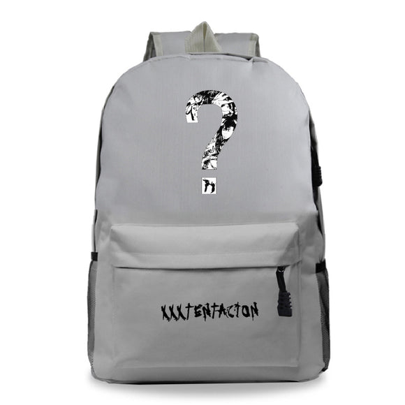 Xxxtentacion Youth Fashion Hip Hop School Backpack Bookbags