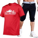Fortnite Casual Shirt and Shorts Suit