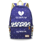 Xxxtentacion Youth Teens Canvas Backpack Students School Bag Bookbags