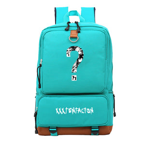 Xxxtentacion Youth Canvas Backpack Students School Bag Big Capacity Travel Bag