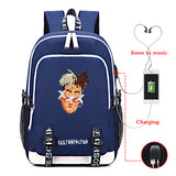 Xxxtentacion Backpack Book Bag School Bag Students Handbag