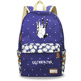 Xxxtentacion Youth Teens Canvas Backpack Students School Bag