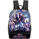 Marvel Avengers 4 Print Backpack Primary School Backpack For Kids