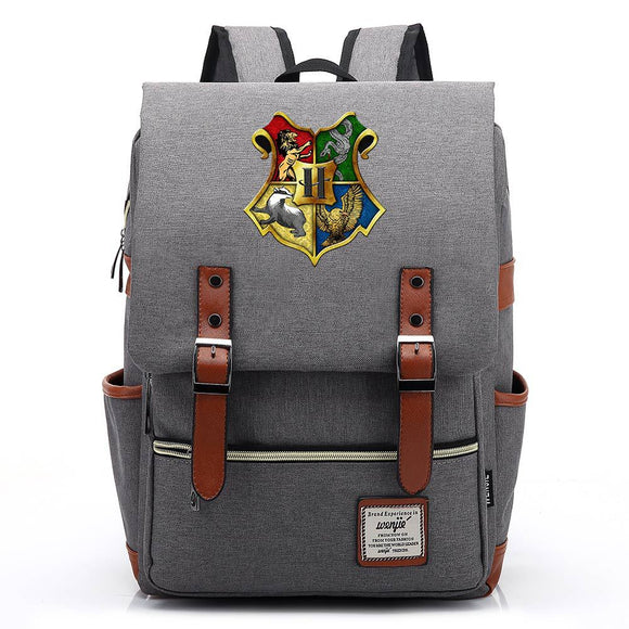 Harry Potter  School Bag Backpack Bookbag Big Capacity Rucksuck Travel Bag
