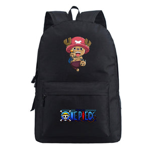 Anime ONE Piece Students Backpack School Bag Bookbags